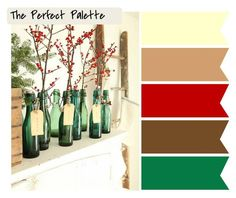 Festive! http://www.theperfectpalette.com/2011/12/holiday-inspired-color-palettes.html