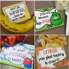 For testing snacks!!!!