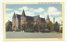 Utah Stake Tabernacle Provo Utah.  I think this burned down a few years ago.  Marty