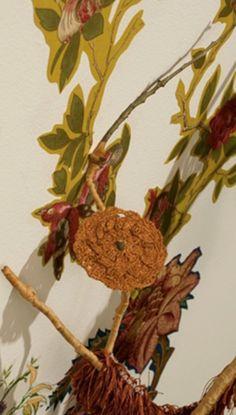 Ceramic Crochet Doily Artist Shannon Donovan  