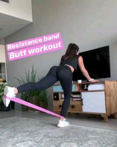 Arm Workout With Bands, Band Workout, Workout Routines For Women, At Home Workouts, Workout Woman, Girl Workout, 30 Day Pushup Challenge, Fun Fitness, Fitness Motivation