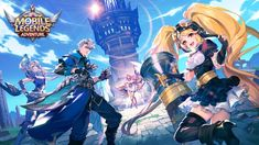 Mobile Legends: Adventure APK is a strategic role-playing game based on Mobile Legends: Bang Bang - one of the best MOBA games on mobile. The publisher Up Animation, Point Hacks, Ultimate Games, Tower Of Babel, Off Game, Game Resources, Mobile Legends, New Chapter, Mobile Game