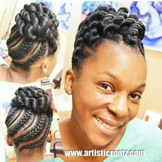 Protective styling. - Black Hair Information Community