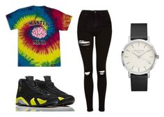 """""""Untitled #70"""" by onlyyc on Polyvore featuring Topshop and NIKE"""