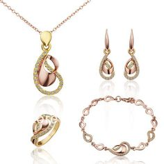 http://gemdivine.com/ls235-yellow-rose-gold-plated-crystal-waterdrop-pendant-necklace-chain-bracelet-dangle-earring-ring-women-jewelry-sets/