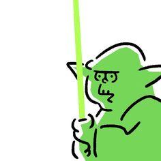 Yoda #yoda #jedi #starwars #episode7 #maytheforcebewithyou #theforceawakens #seijimatsumoto #松本誠次 #art #drawing #design #illust #illustrator #movie #イラスト #スターウォーズ #映画 #ヨーダ