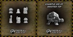 Shooter weapon tips - our new release designed specifically for funs of very loud bang bang noises:)  https://puppetswar.eu/product.php?id_product=642