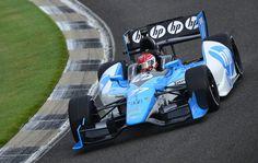Simon Pagenaud at Barber Motorsports park