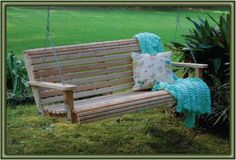 Cypress Porch Swing