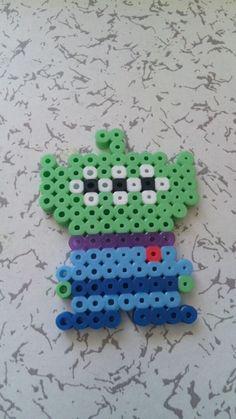 Alien Toy Story perler beads