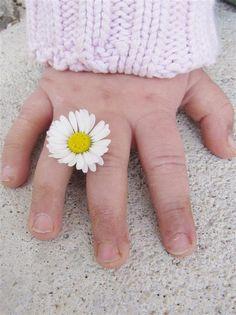..anillo flor