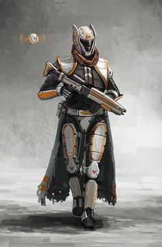 Explore the space warriors collection - the favourite images chosen by adamwee on DeviantArt. Star Wars Characters, Fantasy Characters, Destiny Warlock Armor, Space Warriors, Character Art, Character Design, Pokemon, Destiny Game, Gundam Art