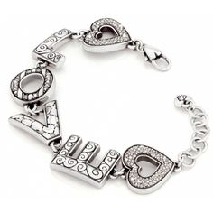 Brighton Fashionista Love Bracelet available at Ear Abstracts Boutique (714)996-3505