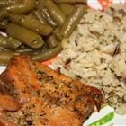 "Heather's Grilled Salmon - ""An easy delicious way to grill salmon. This also reheats nicely for lunches the next day!"""