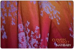 New color Clovers !!! CLOVERS SUNSET 30% Hemp, 70% Cotton TODAY at 2 p.m. (Warsow time) in our shop! http://www.natibaby.pl/
