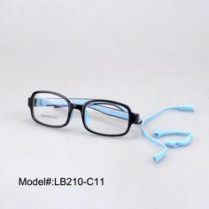 d15973ee079 LB210 flexible high quality full rectangle rim children optical frames  myopia eyewear RX eyeglasses-in Eyewear Frames from Men s Clothing    Accessories on ...