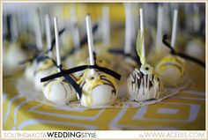South Dakota Joy Ranch Wedding | Military Attire | Yellow, Black and White  DIY