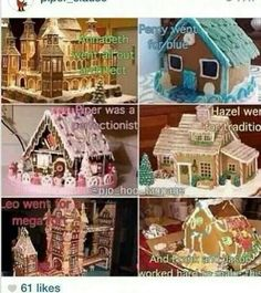The seven's garlic bread houses..Percy*.*