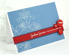 Goodness gracious card by Nichole Heady for PTI (November 2011).