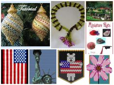 Featured beading patterns in recent Bead-Patterns.com Newsletter!