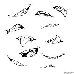Drawing Ideas Sketches Mouths 37 Best Ideas Zeichnen von Ideen Skizzen M Drawing Reference Poses, Drawing Poses, Drawing Tips, Drawing Ideas, Hand Reference, Sketch Ideas, Drawing Stuff, Sketch Mouth, Anime Mouth Drawing