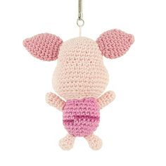 Winnie the Pooh's best friend: Piglet! This crochet pattern is completely free.