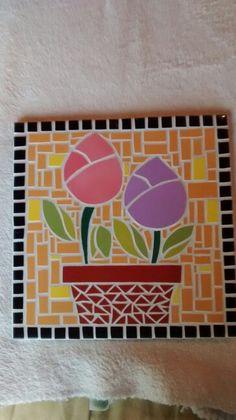 Tulipanes mosaico