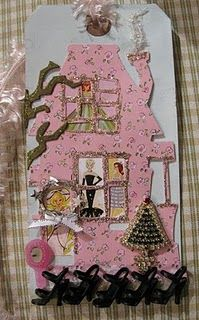 12 tags of Barbie--- unique take on 12 tags of Christmas from Tim Holtz  - this was posted last year and is really a paper crafting hit with me