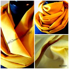 Gold INFINITY SCARVES.Circle Scarf.Tube Scarf.Scarves.Scarf.Shimmery Gold.Soft to Touch.Dressy.Casual.Office..Accessories.ProductID#SC0081 by GamGamzhandcrafted on Etsy