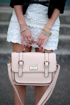 Love this skirt! Aldo Bag
