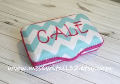 You Design It  Chevron  Medium Wipes Case / School by MsSewItAll32, $17.00