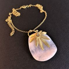 Excited to share the latest addition to my #etsy shop: Rose Quartz & Leaf Pendant Necklace, Sterling Silver Gold Pendant and Chain Rose Quartz with Leaf Charm, Natural Rose Quartz Jewelry #unisexadults #rosequartzpendant #rosequartznecklace #leafpendant #leafnecklace #silverpendant #goldpendantchain #rosequartzjewelry #birthstonejewelry Gold Chain With Pendant, Leaf Pendant, Gold Pendant, Leaf Necklace, Gemstone Necklace, Pendant Necklace, Quartz Jewelry, Coral Jewelry, Unique Necklaces
