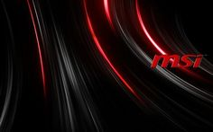 Download MSi Dragon Logo Wallpaper 4K 3840x2160