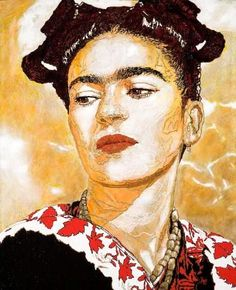 Frida Kahlo...what a beautiful woman