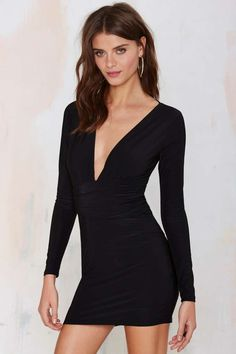 Nasty Gal Alina Dress - Going Out | Body-Con | LBD | Dresses | Dresses | All | Party Perfect | LBD | Body Con | All