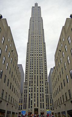 Rockefeller Center -I loved skating there- the rink is much smaller than it appears on TV and in movies
