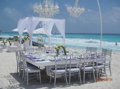 Secrets The Vine Cancun Resort & Spa: Another beautiful beach wedding setup