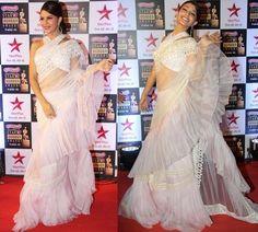 Jacqueline Fernandez in Abu Jani Sandeep Khosla | #Bollywood #Celebrities #Fashion