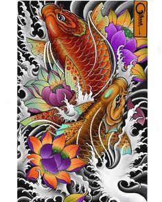 Photo by Quang Xăm on April Image may contain: 1 person Kio Fish Tattoo, Pez Koi Tattoo, Koi Tattoo Sleeve, Koi Dragon Tattoo, Japanese Sleeve Tattoos, Full Sleeve Tattoos, Tattoo Ink, Arm Tattoo, Japanese Koi Fish Tattoo