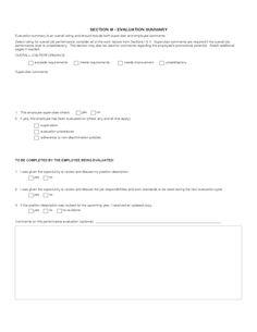 Resulta Ng Larawan Para Sa Sample Printable Employee Evaluation