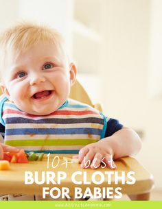 Discover the best burp cloths and bibs for babies+quick links to get them right away!
