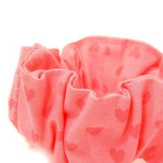 Kawaii Fairy Kei Hair Scrunchies Pink On Pink by blacktulipshop, $4.00