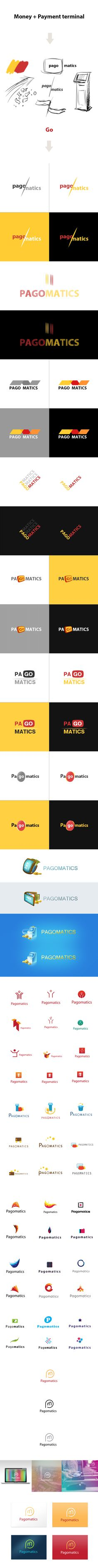 Pagomatics by Alex Martinov, via Behance