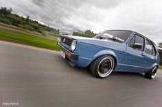 Got the blues - VW Golf MK1