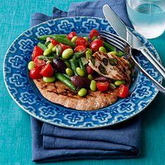 Two-Bean Greek Salad - 20 Skinny Main-Dish Salads - Health Mobile