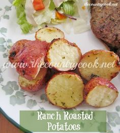 The Country Cook: Ranch Roasted Potatoes
