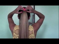 6 Cute and Easy Ponytails! - YouTube