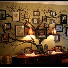 I've had this idea for our dining room since we moved in. This is what I want to do!