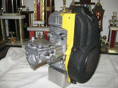 Briggs 5 Hp Alky Kart Engine Dyno 7x Cam Fresh Build, Bench Started, Ready To Go Go Kart Motor, Go Kart Engines, Ready To Go, Two By Two, Engineering, Dads, Bench, Stamp, Fresh