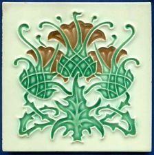 dandelion art nouveau tile - Google Search